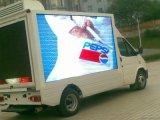 Écran polychrome d'Afficheur LED de remorque de la publicité P8 extérieure