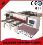 Панель CNC точности Woodworking увидела машину