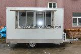 Restauration mobile Van de nourriture de qualité en vente américaine