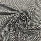 75D полиэстер смешанных Houndstooth катионов оснований в 4-х спандекс ткани для одежды шорты