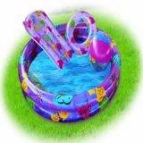 팽창식 2 반지 수영풀