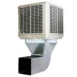 refrigerador de aire evaporativo industrial de aire 18000m3/H de volumen del tejado grande del sitio