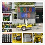 Alimentada a energia solar Cor várias Vms Auto exigível e isento de manutenção