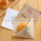 Ahorro de grasa Comida para hornear Almuerzo de papel Kraft Carry Bags