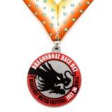 Prêmio personalizados Loja Medalha de PVC para a actividade da empresa Medalhão Exército caixa em branco