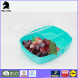 Casella di Bento della casella di pranzo del recipiente di plastica
