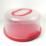 Carrier de van uitstekende kwaliteit van de Cake met de Rozerode Kleur van het Handvat
