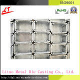 Aluminium Alloy Die Casting Hardware LED Lighting / Satellite Foundation Base