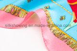 Aangepaste Sjaal van de Zijde van de Druk van de Fabrikant van de fabriek de Digitale