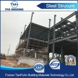 Edifício de aço Prefab de Sturcture de 2 assoalhos para a oficina