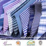 Tissu teint par filé cationique pour des chemises