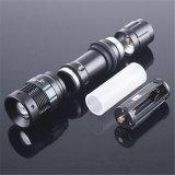 Linterna Zoomable de los lúmenes LED del CREE Q5 800