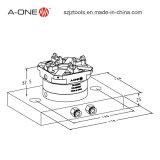 CNC de Pallet van het Roestvrij staal van de Klem op CNC Draaibank 3A-100022 wordt gebruikt die