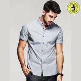 OEM는 공장 새로운 디자인 최신 판매 도매 면 남자의 셔츠를 서비스한다