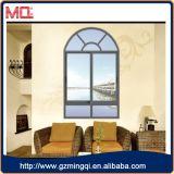 Finestra di scivolamento di alluminio della finestra del tondo superiore