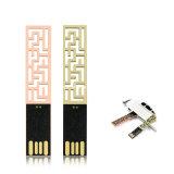 Mini-USB-grelle Platte-wasserdichter Metall-USB-Stock