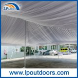 40X80 Outdoor High Peak Peg and Pole Tent com revestimento de telhado para casamento