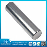 Magneet van het Neodymium van NdFeB van de Cilinder van de zeldzame aarde de Permanente