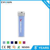 USB 2000mAh 정연한 파란 휴대용 힘 은행 이동할 수 있는 배터리 충전기