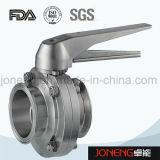 Valvola a farfalla filettata manuale igienica dell'acciaio inossidabile (JN-BV1003)