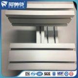 Aluminio Extrusión / Perfiles de Aluminio Anodizado de Aluminio Plata Mate