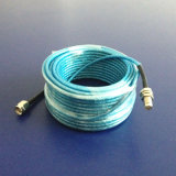 Cable coaxial del RF de la alta calidad (HOJA de LMR100-CU)