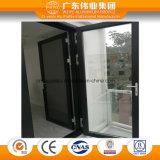 現代デザイン機密保護の網が付いているアルミニウム開き窓のドア