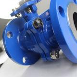 Robinet à tournant sphérique de flottement de la norme ANSI 150lb Wcb avec la garniture d'ISO5211 Mouting
