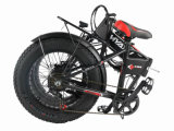 ثلج يخفى بطارية يطوي [إ] درّاجة مع إطار العجلة سمين