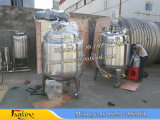 Reactor de Tanque de Reacción 2000L con Agitador de Turbina