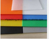 Polypropylène recyclable Corflute/Correx/Coroplast (noir ou transport) 2-5mm 2400*1200mm