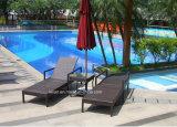 Sillas de salón al aire libre de la playa del salón de Sun del centro turístico de los muebles de la rota (LL-RST007)