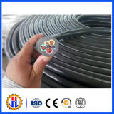 Câble isolé de contrôle de la gaine en caoutchouc (YC)
