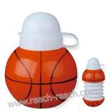 Бутылка воды формы шарика корзины пластичная (R-1186)