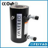유압 부속 플런저 유형 액압 실린더 두 배 임시 유압 들개
