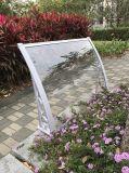 Tentes en plastique transparentes à télécommande escamotables en aluminium