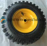 Rubber Wiel voor de Vrachtwagen van de Verwijdering van de Sneeuw (13*4.10-6)
