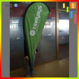 Activité extérieure de Sublimation de Colorant imprimé drapeau bannières de plumes personnalisé