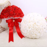 熱い販売の結婚式によっては花嫁の花束が開花する