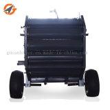 Mini macchina rotonda della pressa per balle del fieno dell'erba del trattore poco costoso di uso da vendere