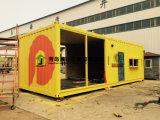 Edifício modular do recipiente do escritório da construção de aço