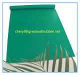 Het groene RubberBlad van de Kleur SBR met Certificaat PAHs