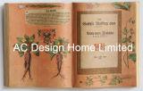 대중적인 식물학 PU Leather/MDF 나무로 되는 책 모양 벽 예술