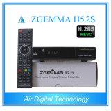 Твиновский Linux HD PVR тюнера DVB-S/S2 подготавливает спутниковый приемник с Hevc/H. 265 Zgemma H5.2s