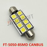 FT 5050 8SMD LED lámpara de lectura embellecedor bombillas Canbus