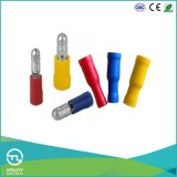 Terminais de cabos pré-isolados Utl de forma de bala Altifalantes para cabos Plug-in macho