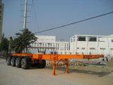 40pieds quatre essieux conteneur squelettique de remorque