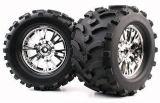 1/8 pneu de camion de monstre (Mechanix/S'est dédoublé-v) (WC1008)