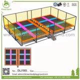 Parque Trampolim Fitness comercial com pega, trampolim Piscina