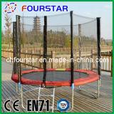 8ft Gymnastiek- Trampoline met Safety Net en Ladder